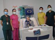 98 Yaşındaki Koronavirüsü Yendi.
