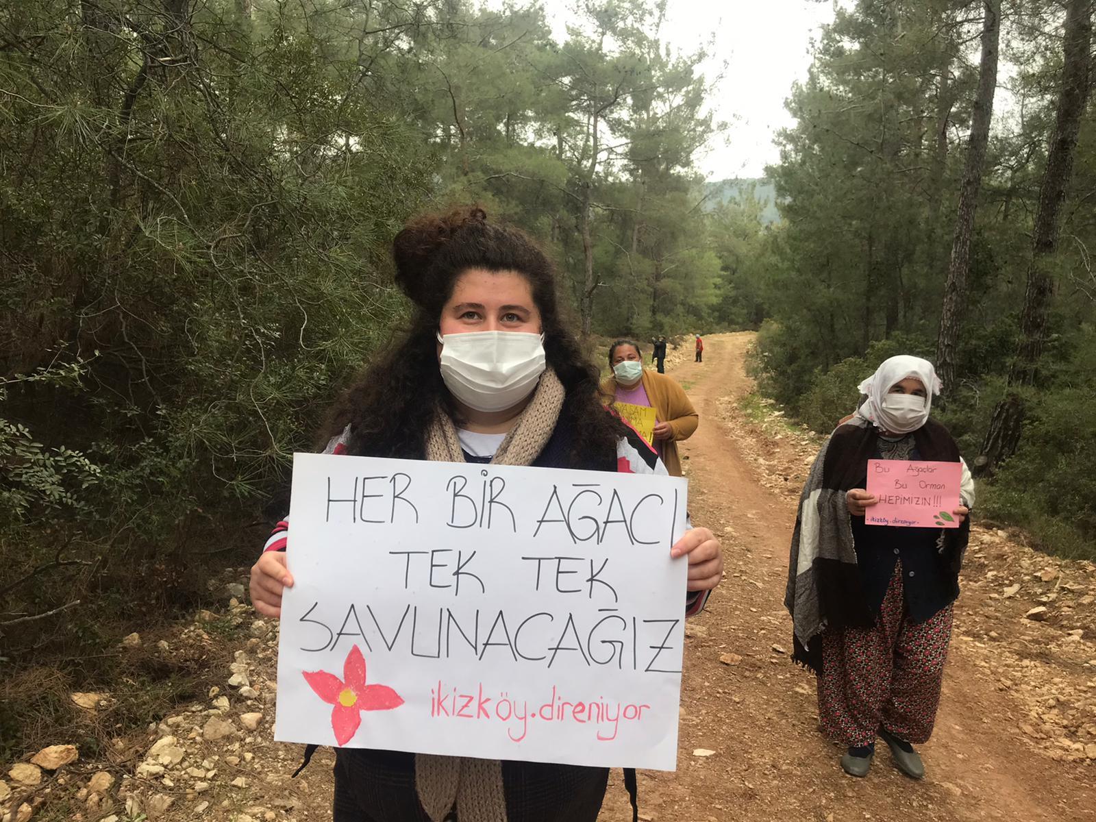 İkizköy Halkı Yeni Bir Orman Katliamına Dur Dedi