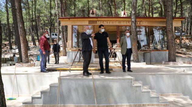 Kızıldağ Mesire Alanında Çalışmalar Tam Gaz