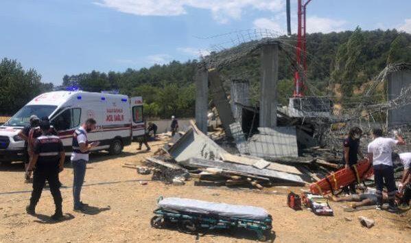 Muğla'da inşaatta göçük meydana geldi: 1 ölü, 3 yaralı